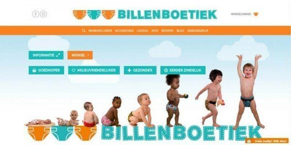 kraamcadeau van Billenboeiek